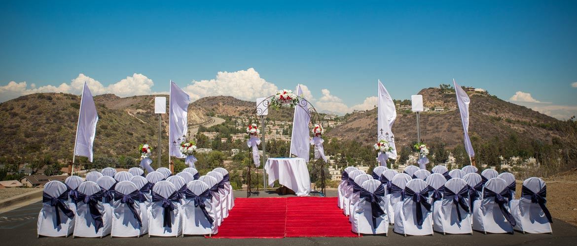 Picking a Wedding Reception Location in Orange County